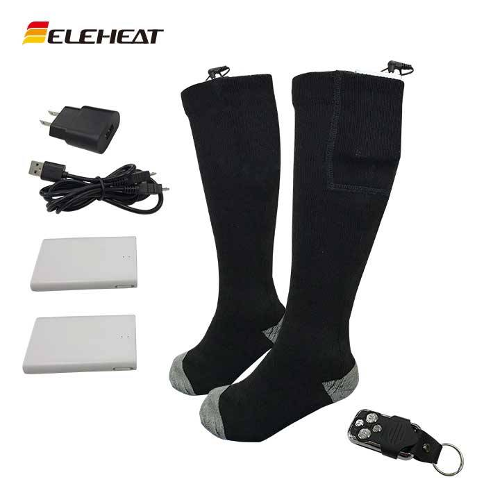 Lithium Battery Heated Socks with Remote Control