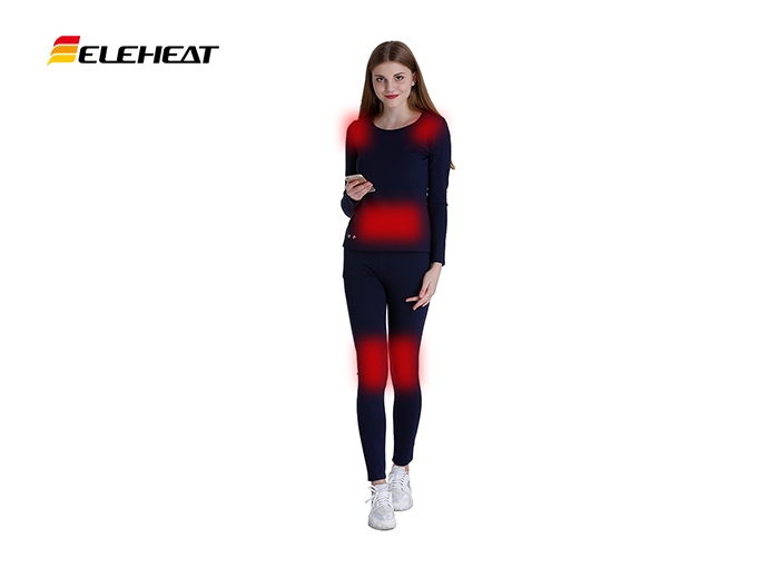 Heated base layer, keep you warm without wearing too much