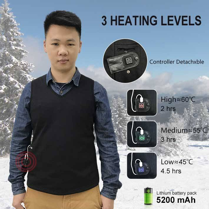 Europe style for Rechargeable Electrical Heated Pants -