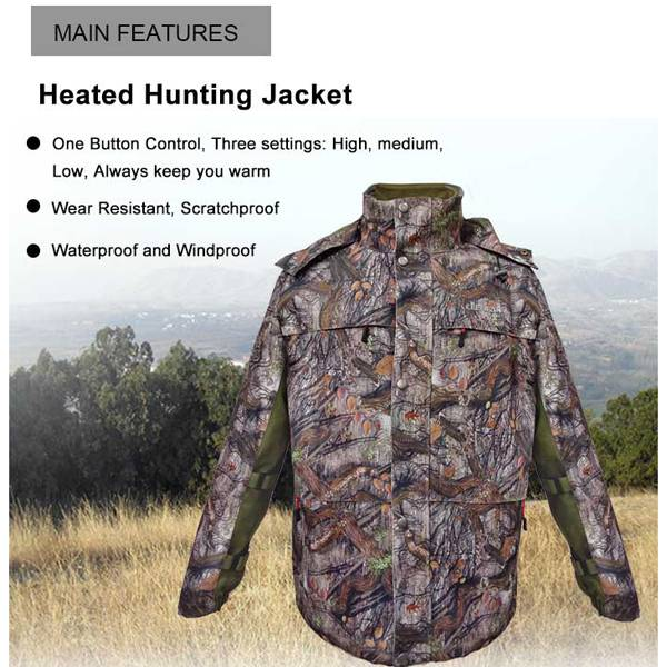 Heated Hunting Clothes >> China Factory Wholesale Battery Operated Hooded Heated