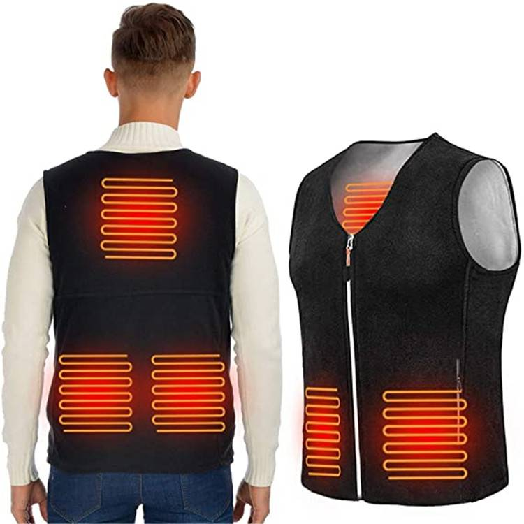 Outwear Adjustable Intelligent Electric Heated Keep Warming Vest For Men