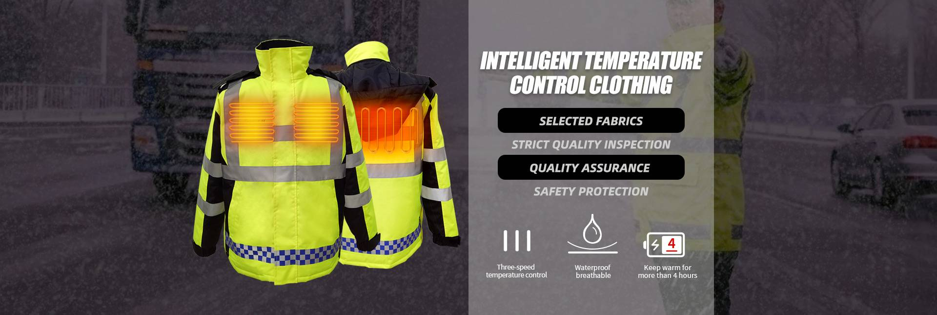 Heated Working Clothing