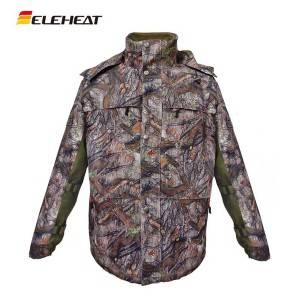 EH-J-031 Eleheat 12V Heated Hunting Clothing