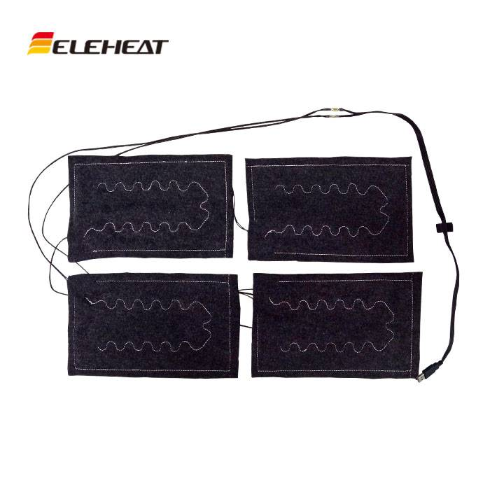 Heating pad for heated pants, heated trousers