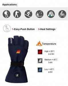 EH-G-008 Battery Heated Gloves