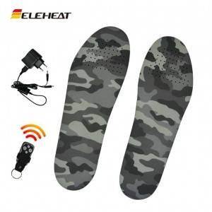 EH-HI-001 Rechargeable theth Insoles le Remote Control