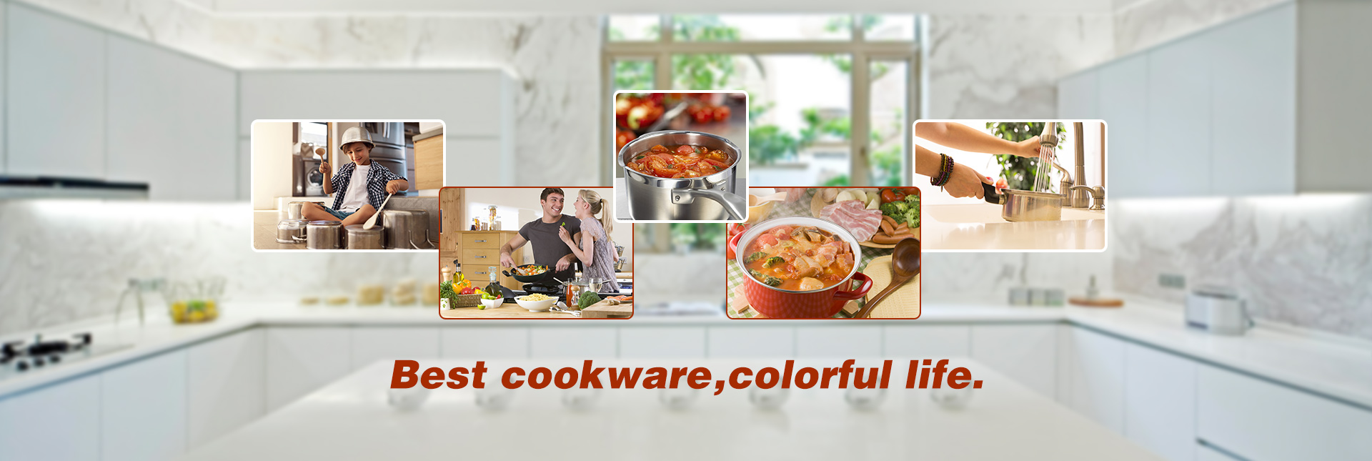 Best cookware,colorful life.