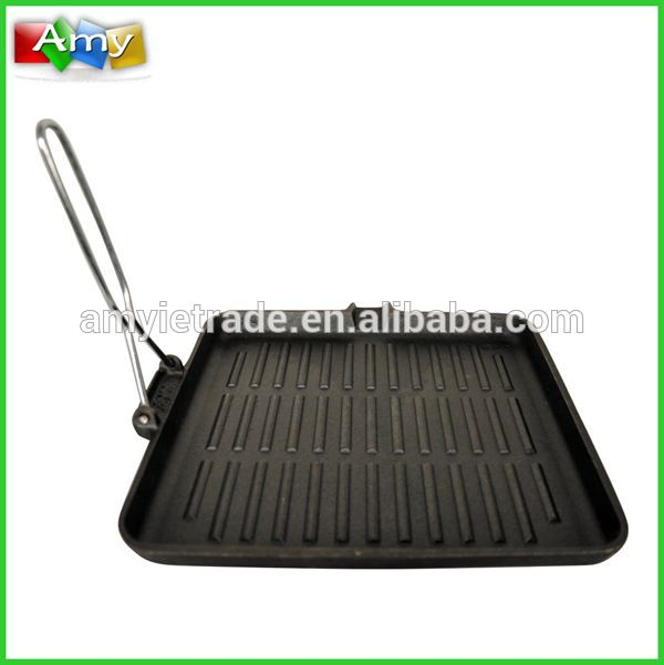 vegetable oil cast iron charcoal grill, cast iron bbq grills,cast iron pan