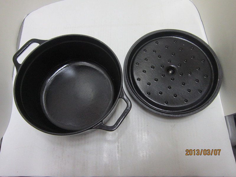 Cast iron color enamel pot/cast iron cookware
