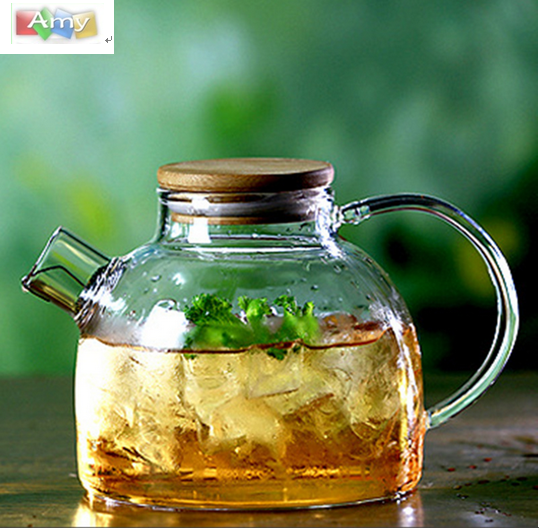 HOT SALE PYREX BOROSILICATE GLASS TEAPOT