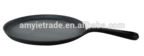 cast iron shallow fry pan/cast iron cookware
