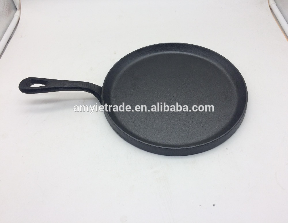 Popular Pre-seasoned Cast Iron Skillet, Fry pan