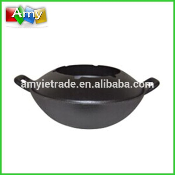 cast iron wok,cast iron cookware