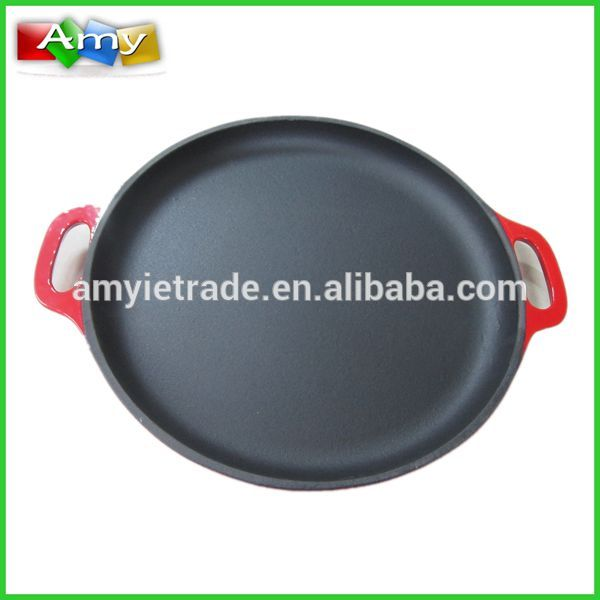 Factory made hot-sale 26cm Cast Iron Grill Pan -
