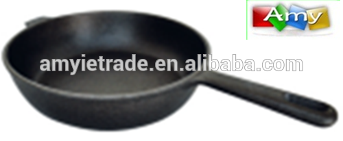 SW-F25 25x6cm cast iron pan,cast iron cookware Featured Image