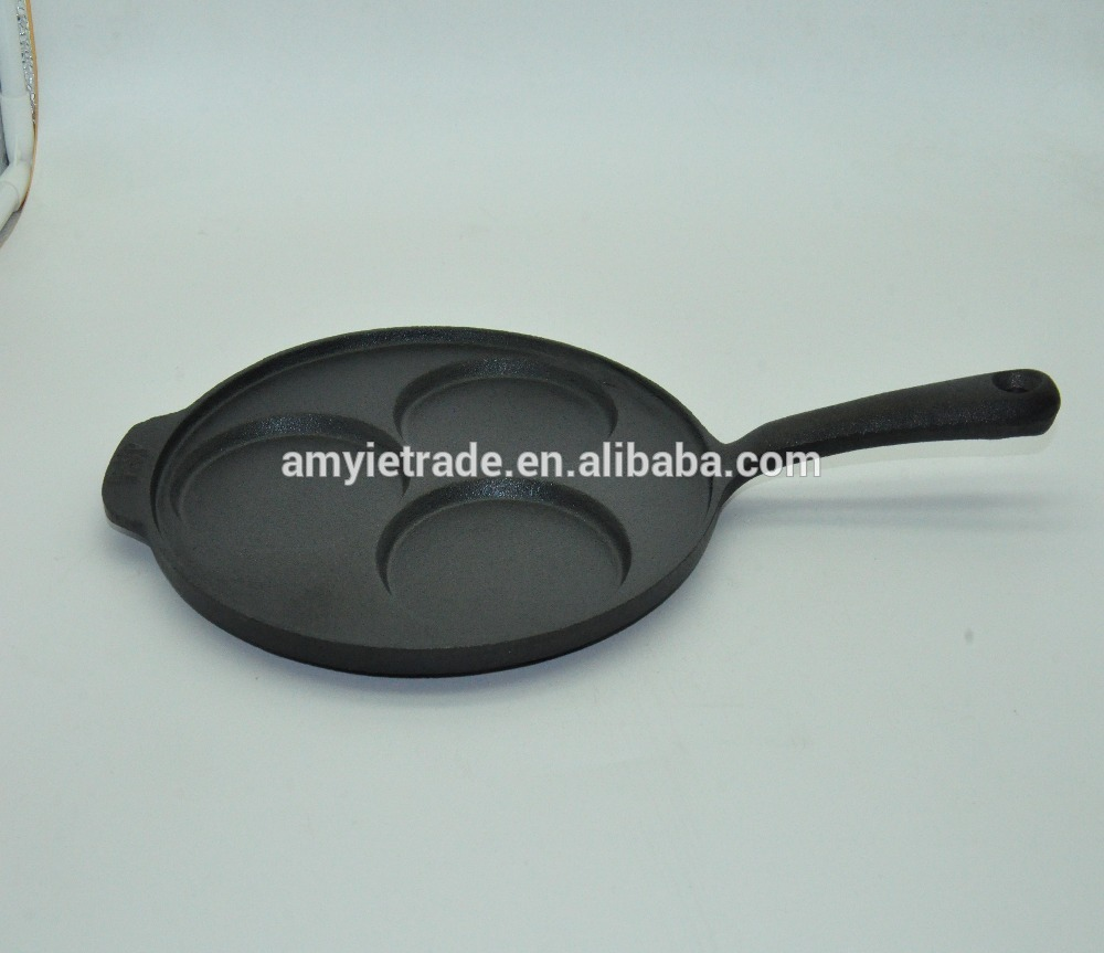 Hot New Products Cast Iron Preseasoned Fry Pan Set -