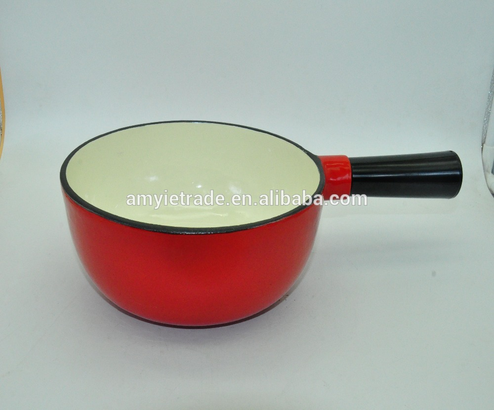 enamel cast iron cheese pot,Cast Iron Cookware