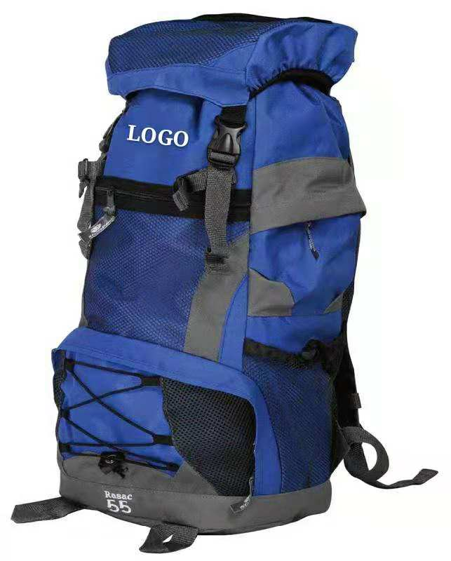 55L banyu-tahan Travel Hiking Backpack