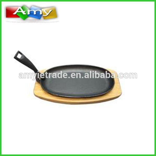cast iron Sizzler platter, kast-iron Sizzler plate, kast-iron sizzling plate