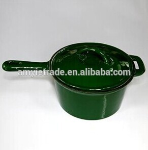 3QT cast iron saucepan,Cast Iron Cookware