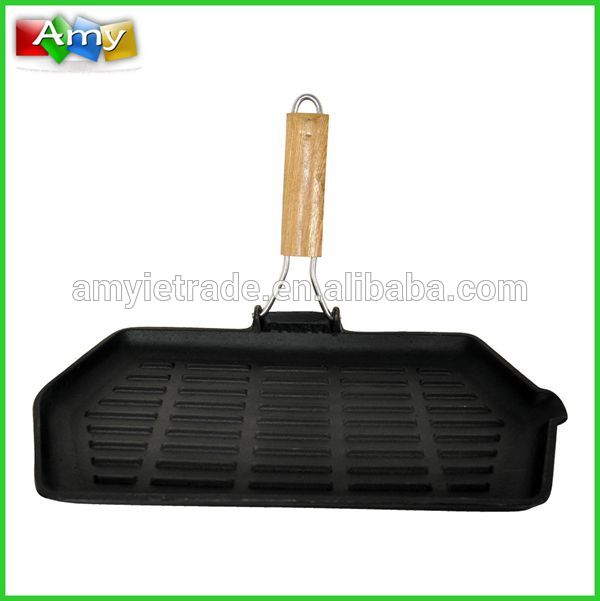 SW-F062W rectangle large cast iron grill pan, cast iron BBQ grills Featured Image