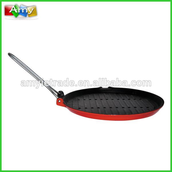factory Outlets for Cast Iron Grill Frying Pan -