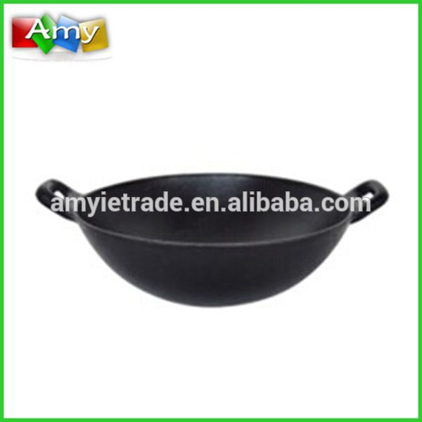 cast iron chinese wok