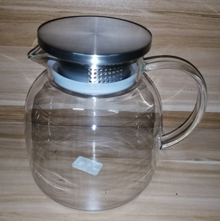 Hand-Made High Borosilicate Glass Water jug Glass Water Bottle
