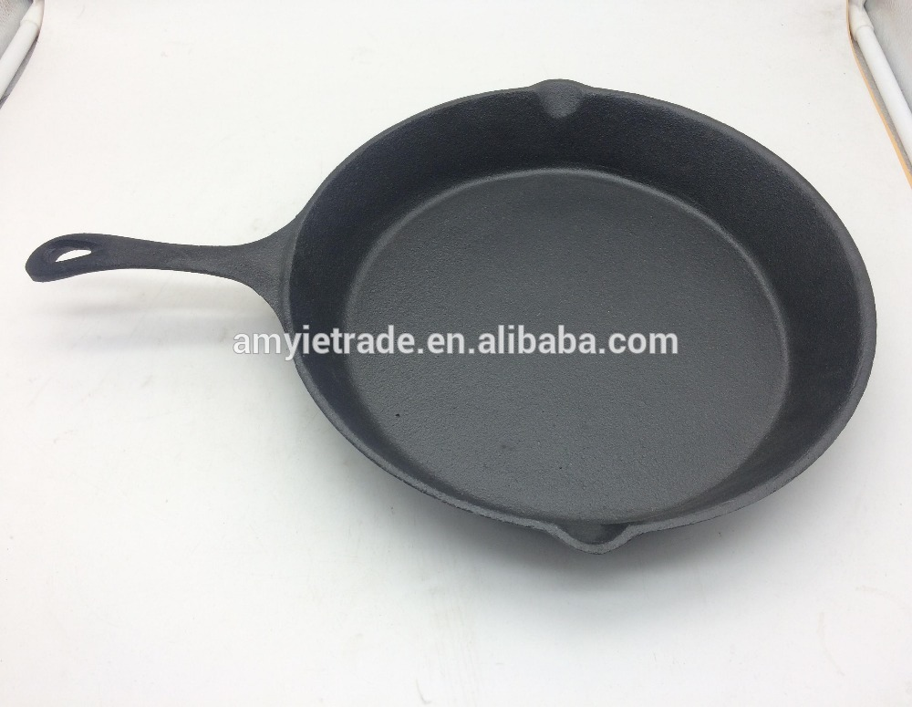 Pre Seasoned Cast Iron Skillet (11.5 düym)