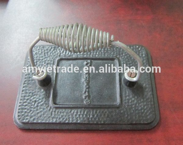 Wire Handle Cast Iron Meat Press