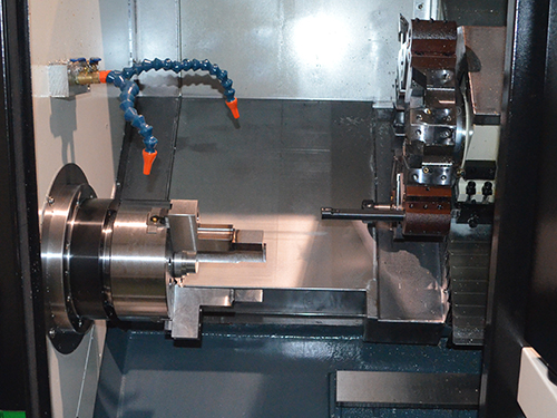 We are aware of safety precautions when using CNC lathes