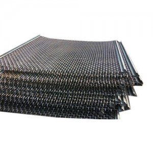 Spring Steel Vibrerande Screen Mesh