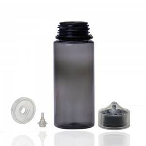 100ml CGU Clear Black Break-off tip Refill V3 with childproof tamper cap