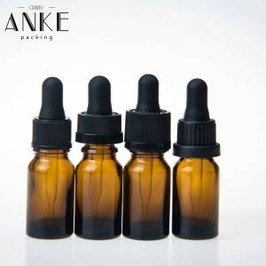 10ml CBD glass dropper bottles amber glass bottle