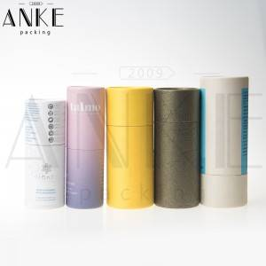 Customized packaging box paper tube round cardboard boxes