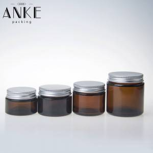 CBD packaging screw cap glass jars