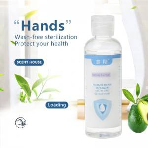 Wholesale Portable Antibacterial 75% Alcohol Hand Sanitizer Gel