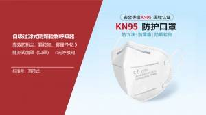 Wholesale High Quality kn95 disposable dust mask