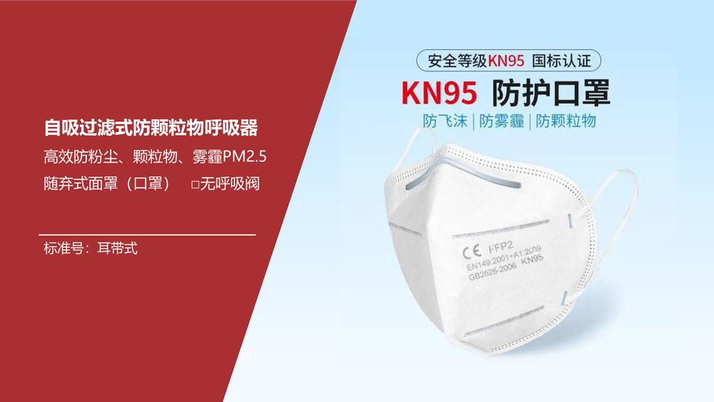 Wholesale High Quality kn95 disposable dust mask Featured Image