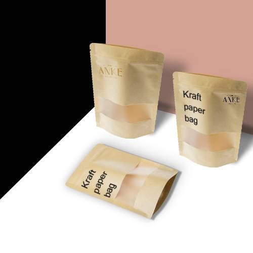 Printing Kraft Paper bag from ANKE Packing