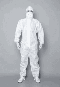 Disposable Anti-Dust Personal Isolation Clothing With CE Certificate