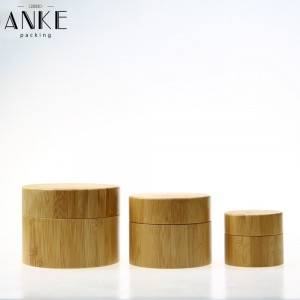 CBD packaging screw cap Bamboo Jar
