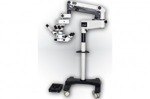 Specialized ophthalmic 6D operating microscope