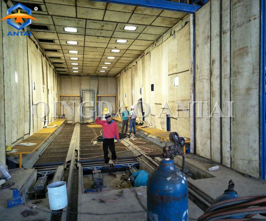 Indonesia 18*6*5m sand blasting room