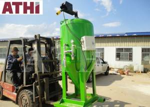 DB3000 Wet type dustless sand blasting machine