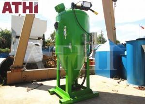 DB1500 dustless blasting machine