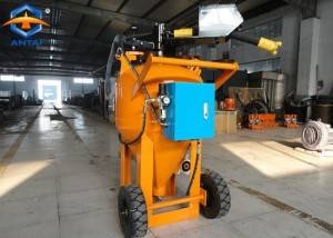 Wet type dustless water and glass bead blasting Machine