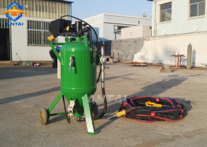 DB225 dustless blasting