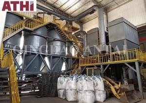 Green/Clay sand processing pretreatment reclamation production line