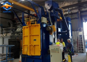 Q3710 hanger hook type shot blasting machine